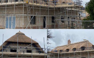 New Build Thatching Brampton